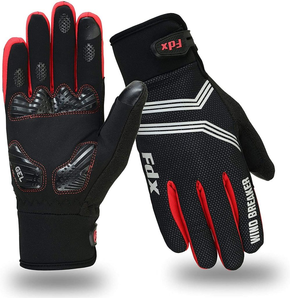 FDX cycling gloves